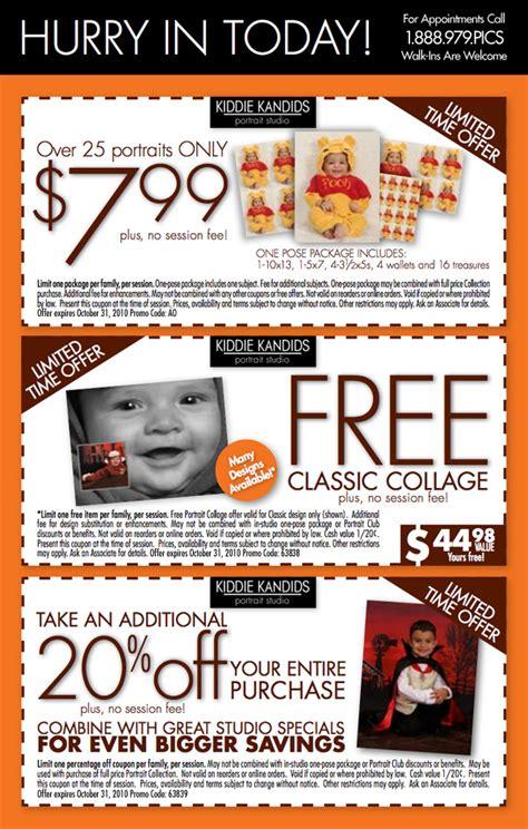 discount voucher kiddies kingdom kiddie kandids coupons