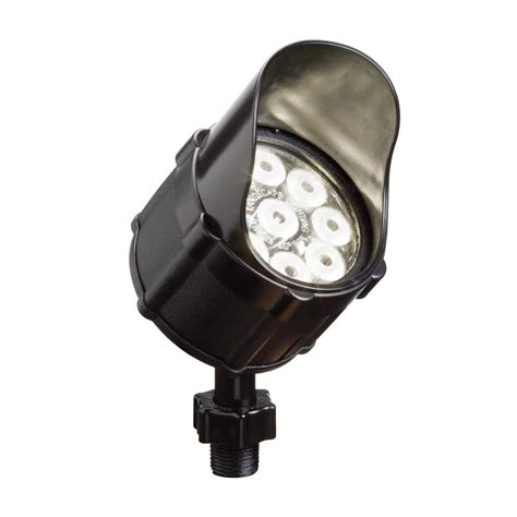 landscape lighting 120v led kichler 15751 12 4 watt 10 degree beam spread led accent light