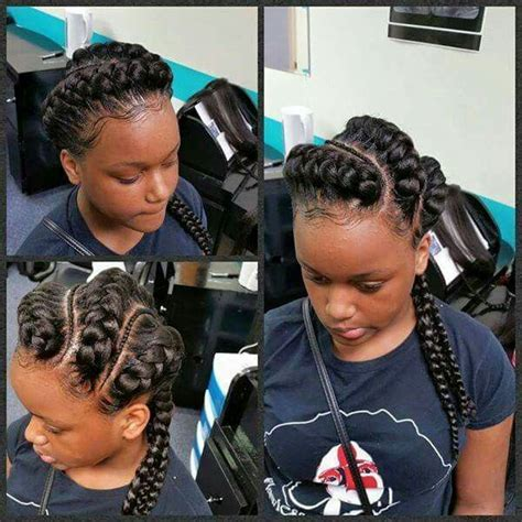 hair with small braids unserneath 1000 images about love the kids braids twist and natural
