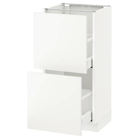 ikea kitchen base cabinets metod maximera base cabinet with 2 drawers white h 228 ggeby
