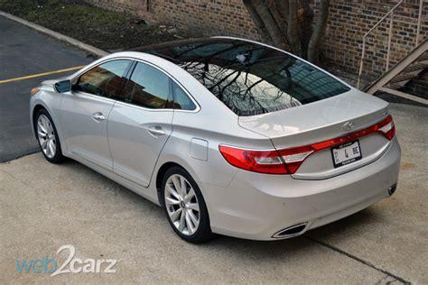 2014 hyundai azera limited review web2carz