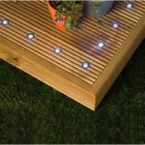 outdoor decking lights 10 x led outdoor decking light kit white qvs
