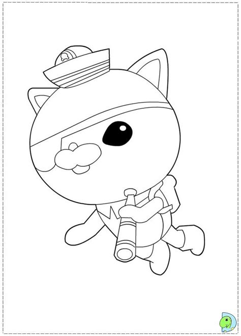 octonauts templates octonauts coloring pages bestofcoloring