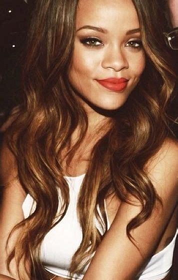 what color is rinna s hair rihanna s hair color perfect waves hair pinterest