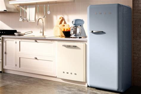 smeg kitchen appliances smeg introduces larger models of its colorful retro style