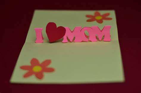 fiy mothers day pop up card template free s day pop up card template and tutorial
