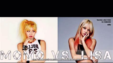 blackpink jyp momo twice and lisa blackpink yg vs jyp youtube