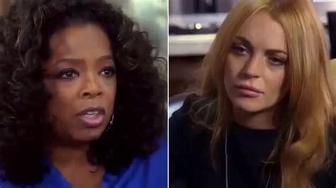 Pop Nosh Lindsay Lohan Does Rehab Take 2 Popbytes 8 by Oprah Winfrey Scolds Lindsay Lohan In Docuseries You