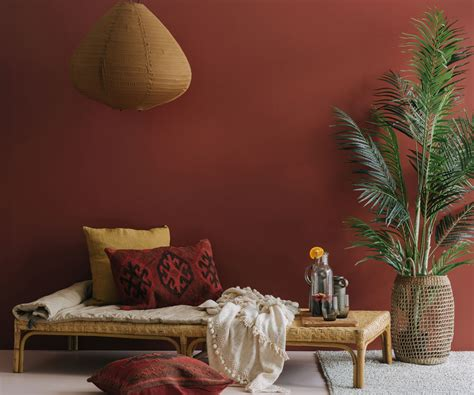 create  interior inspired  earthy colours  moroccan style