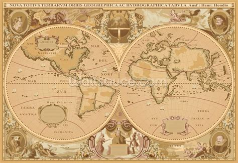 Classic World Map Mural Maps - 25 best ideas about world political map on