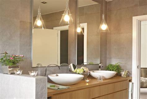 iluminacion baño techo camarotes matrimoniales para espacios pequenos