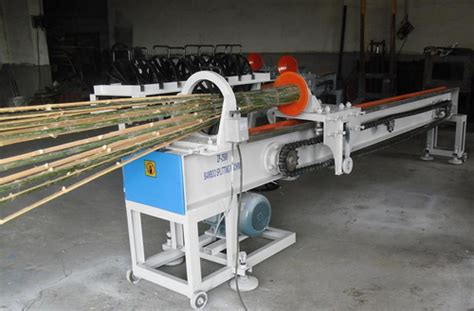 bamboo stick machine