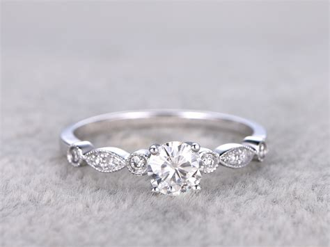 Moissanite Rings by Deco Moissanite Engagement Rings 500 Cheap