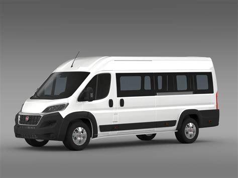 2015 fiat ducato fiat ducato maxi minibus 2015 3d model max obj 3ds fbx