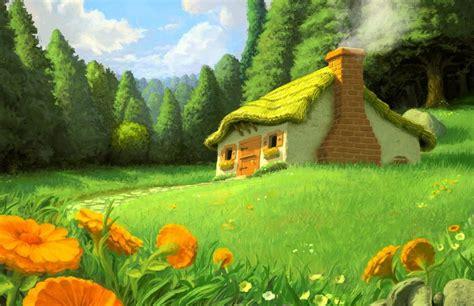 Nice House Hd Scenery Wallpapers   HD Wallpaper