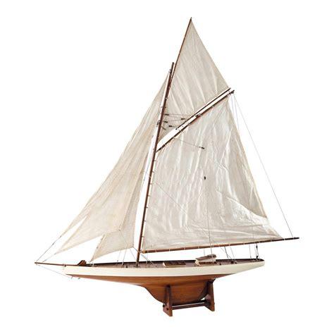 decoration de bateau bateau d 233 co en bois 120 x 124 cm arcachon maisons du monde