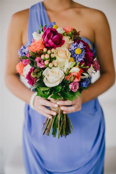 colorful wedding a rainbow of pretty 21 chic colorful bridal bouquets