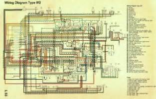 early porsche 911 wiring diagram autos post