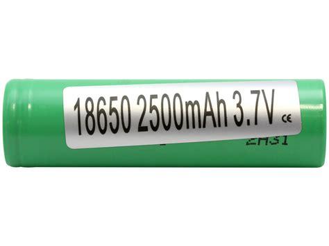 Samsung Inr 18650 25r Li Ion Battery 2500mah 3 7v With Flat Top samsung 18650 unprotected lithium ion flat top battery