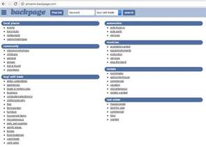 Back Pages Backpage The Craigslist Alternative To Buying