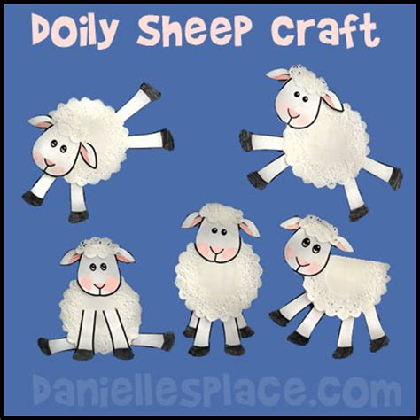 new year sheep pattern sheep crafts and activities can make