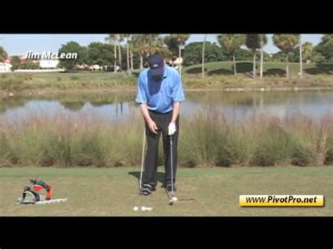 jim mclean golf swing golf swing lesson maximize distance improve