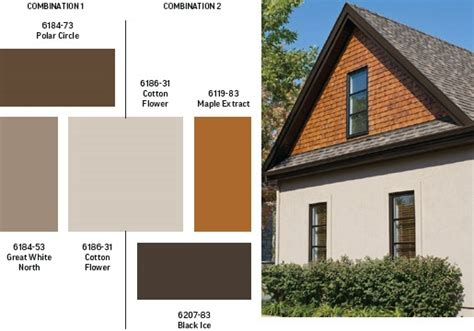 exterior paint colours exterior colors sico cedar color siding color black