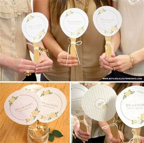 How To Make Paper Fans For Weddings - 105 best images about eco friendly wedding on