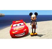 Mickey Mouse Meets His Best Friend Disney Cars Lightning