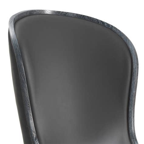 poltrone di lusso poltrona da salotto in pelle e pelo nero eli design