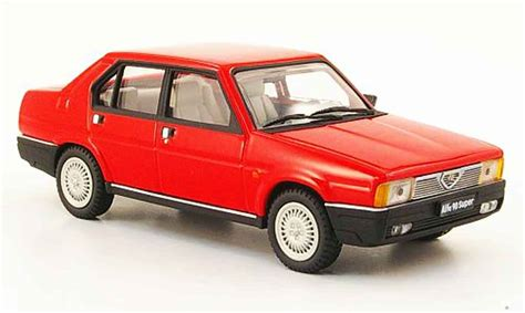 pego car alfa romeo 90 super red 1984 pego diecast model car 1 43