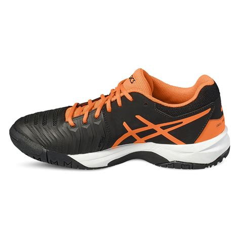 asics gel resolution 7 gs boys tennis shoes