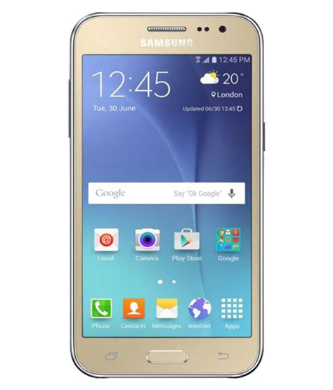 G Samsung Mobile Samsung J200g 4g 8gb Gold Mobile Phones At Low Prices Snapdeal India
