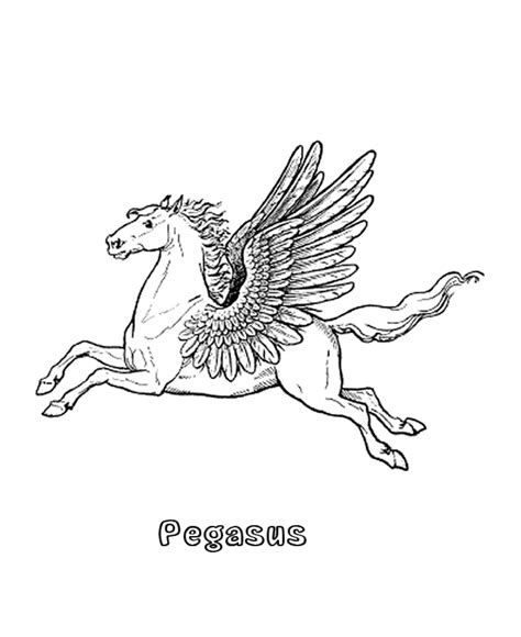 Bluebonkers Mythical Animals And Beasts Coloring Sheets Mythical Creatures Coloring Pages