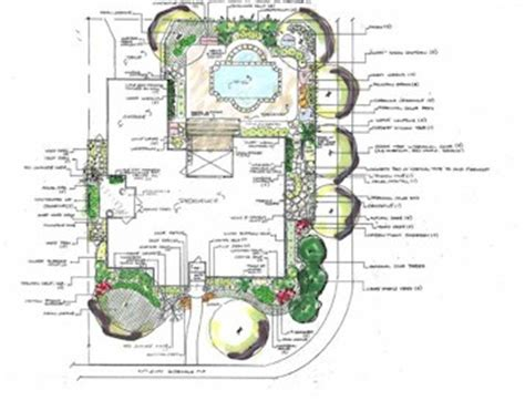 land layout sketch artemis landscapes in calgary professional landscapers