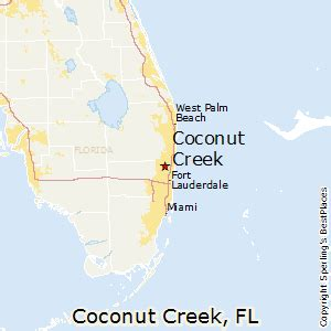 where is coconut creek florida on map best places to live in coconut creek florida