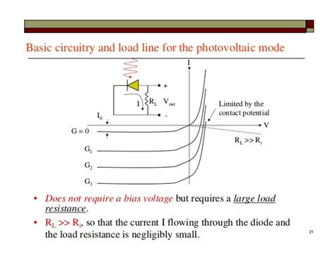 photodiode in photovoltaic mode lect12 photodiode detectors