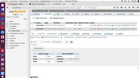 cara membuat koneksi login dengan php membuat from login dengan php dan mysql ivan sys rpl