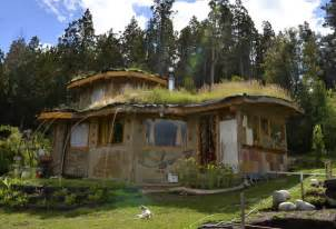 Sustainable home built with natural materials