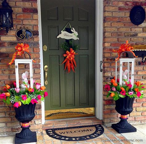Spring Decorating Ideas For Your Front Door | spring decoration ideas spring decorating ideas