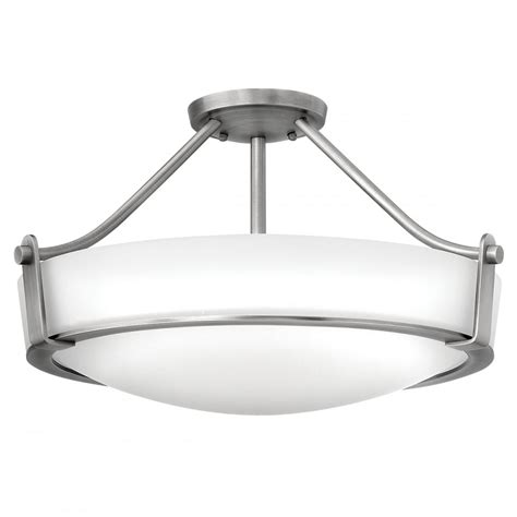 nickel semi flush ceiling lights contemporary semi flush antique nickel ceiling light with