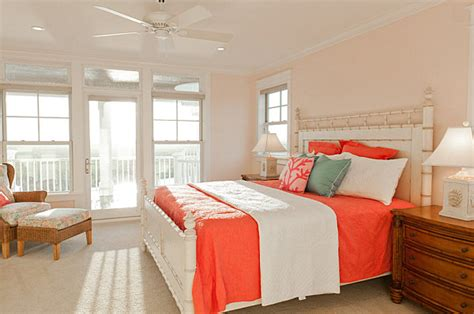 coral bedroom color schemes colors and mood how they affect interior design
