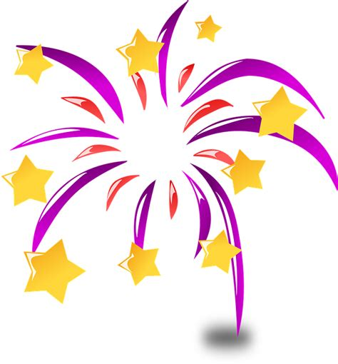 free clipart animations free vector graphic new year new year s day fireworks