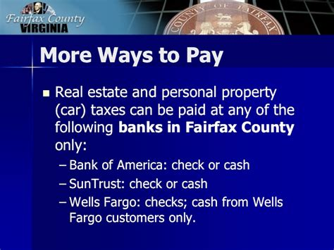 Fairfax County Background Check 2013 Tax Facts General Information About Fairfax County Taxes