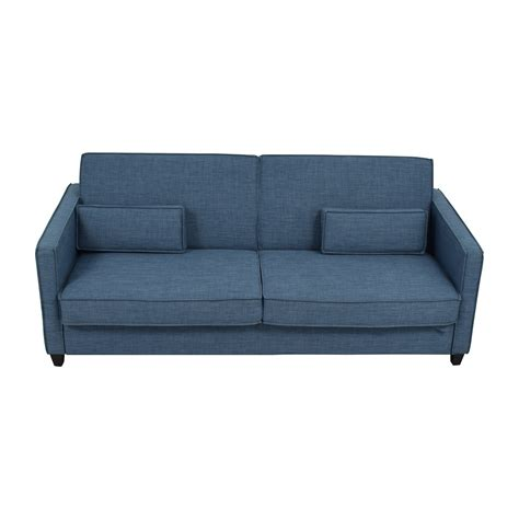 blue sofa pillows 34 off blue sofa with two throw lumbar pillows sofas