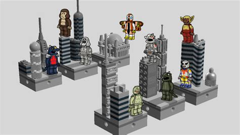 Lego Nanoblock Loki glenbricker s review weekly cuusoo