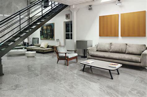 Gris de savoie Ultra marmi, grey marble effect floor and