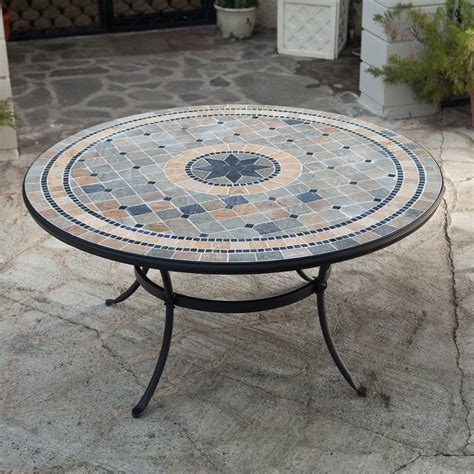 Mosaic Patio Table Mosaic Patio Tables Mosaic Tables Car Interior Design Coral Coast Marina Mosaic Bistro Table