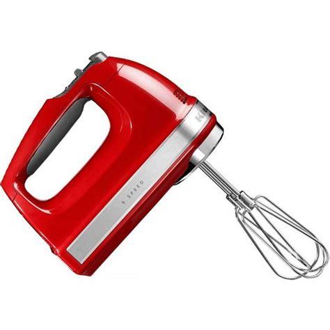 kitchenaid hand mixer empire red