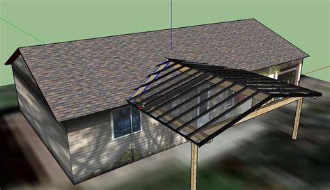 how to attach a patio roof to an existing house 1000 ideas about inexpensive patio on pinterest easy
